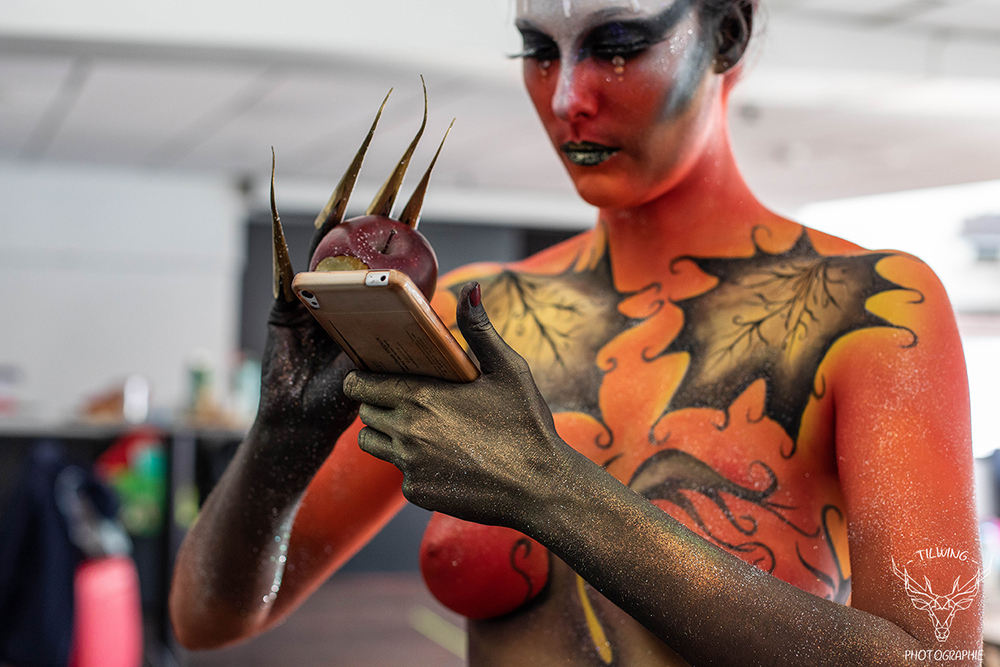 body painting Nantes